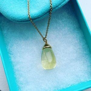 Tiffany & Co. Lemon Quartz 18k 20 Carat Necklace